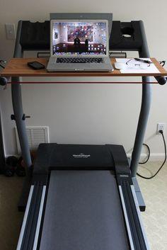 DIY Treadmill Desk- Whole Lifestyle Nutrition