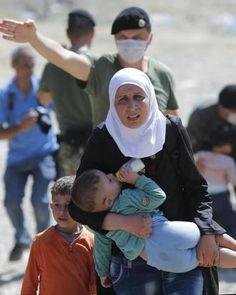 Refugiados en Macedonia.