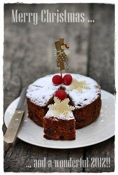 Garam Masala Christmas Fruit Cake  ~Feliz Navidad~