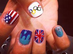 Десять Лучших: Олимпийский Ногтей Слайд-Шоу