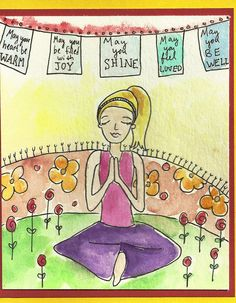 happy birthday yoga pose | Occasion: her birthday