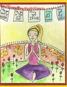 happy birthday yoga pose | Occasion: her birthday