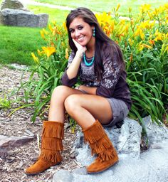 Minnetonka Moccasins are great for summer!  http://stagecoachgifts.biz/collections/minnetonka-moccasins
