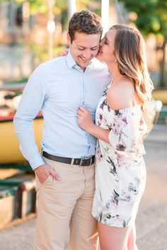 Sunset anniversary session at Wisconsin Memorial Union Terrace | Kallidoscope Photography