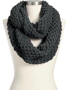 Women's Chunky-Knit Infinity Scarves   Old Navy