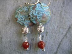 Hey, I found this really awesome Etsy listing at https://www.etsy.com/listing/185795972/tribal-earrings-handmade-turquoise