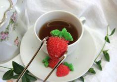 Sweet Treat Strawberry Shaped Sugar Cubes 3 by WishingwellArt