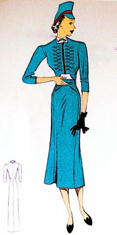 30s sewing pattern