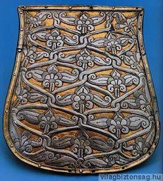 Tarsoly alakú régészeti leletek és egyéb ábrázolások - Galgóci tarsolylemez - Világbiztonság