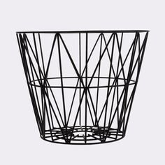 Wire basket, large, 5 väriä