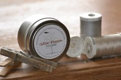 SOY Candle Travel Tin 4oz   Highly Scented by #OctoberFieldsFarm, $5. #MaineTeam