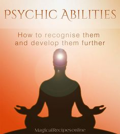 Psychic abilities: How to recognise them and develop them further - Pinned by The Mystic's Emporium on Etsy