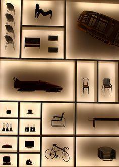 Excibits in the Pinakothek der Moderne, Munich
