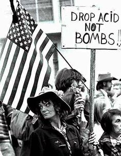 Drop acids not bombs!