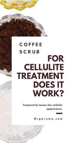 Using Coffee scrub for cellulite treatment does it work?  Scrubbing coffee grounds on your skin may temporarily lessen the cellulite appearance. coffee scrub for cellulite diy I coffee scrub benefits  #skincare #SaltFaceScrub Coffee Cellulite Scrub, Coffee Scrub, Organic Skin Care, Natural Skin Care, Salt Face Scrub, Reduce Cellulite, Coffee Benefits, Homemade Skin Care