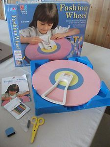 80's fashion wheel toy - Google Search