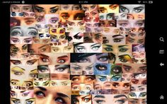 Boy George. Boy and his eyes over the years