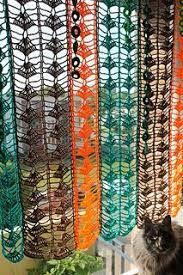 Bildergebnis für free crochet kitchen curtains