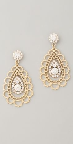 Cute statement earrings