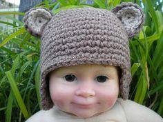Baby Bear Beanie from craftsy.com