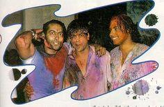 Salman and shahrukh Enjoying holi. Bollywood Pictures, Actress Pics, King Of Hearts, Handsome Actors, Hollywood Actor, Bollywood Stars, Shahrukh Khan, Big And Beautiful, Image Sharing