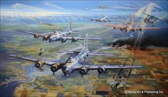 AviatorArt.com - Formidable Fortress, by Robert Bailey, $220.00 (http://www.aviatorart.com/formidable-fortress-by-robert-bailey/)