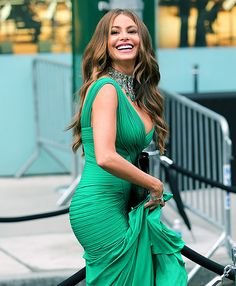 Sofia Vergara looked regal wearing Herve L. Leroux at the CFDA Fashion Awards in New York City on June 3, 2013.