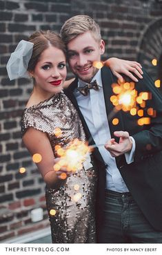 Glamorous Beginnings | Styled Shoots | The Pretty Blog