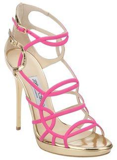 Jimmy Choo - Bunting Sandal.  www.FashionLoveStruck.com
