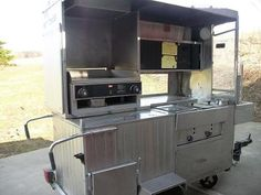 Hot Dog Cart with Flattop Grill, the things I could do with you.........