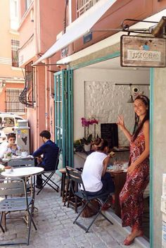 Bergüzar opened the Coffee shop in Cihangir istanbul named Not Just Coffee. 2015