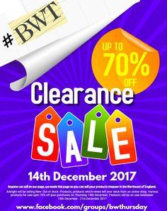 #pltjon @pltjon #bwt    Follow Black & White Thursday   for some clearance sales starting tomorrow 14th December 2017 Website Creator, Off Sale, Clearance Sale, Thursday, The Creator, December, Drink, Black And White, Random