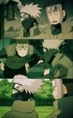 Kakashi And Obito, Naruto Uzumaki, Anime Naruto, Boruto, Manga Anime, Naruto Show, Naruto Teams, Awesome Anime, Anime Love
