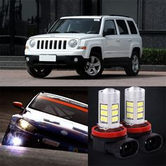 42.74$  Watch here - http://ali5i2.shopchina.info/go.php?t=32808749843 - 2pcs 72 SMD Daytime Running Light Bulbs LED Fog Lamp For Jeep patriot 2013-2014  #shopstyle