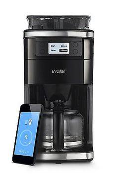 Smarter SMC10EU Coffee Kaffeemaschine Wifi WLAN mit Mahlwerk IOS ANDROIDsparen25.com , sparen25.de , sparen25.info