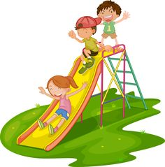 children playing: Illustration of kids playing at a park Drawing For Kids, Art For Kids, School Frame, Class Decoration, Exercise For Kids, Cartoon Kids, Cartoon Images, Parks And Recreation, Free Illustrations