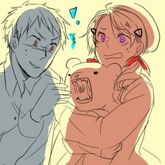 ~Pirate!Hetalia RP (Married Couple 2)~ Gilbert and Madeline