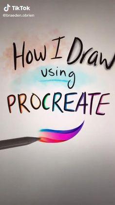 Digital Painting Tutorials, Digital Art Tutorial, Art Tutorials, Art Drawings Sketches Simple, Drawing Tips, Digital Art Beginner, Poses References, Ipad Art, Digital Illustration
