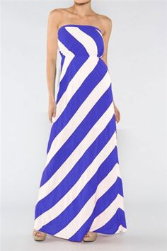 this striped maxi is perfect for the 4th!