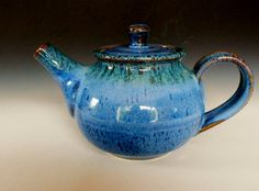 Love these hand made and painted teapots on Etsy!