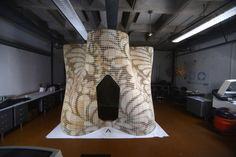 "Gallery of Emerging Objects Creates ""Bloom"" Pavilion from 3D Printed Cement - 11"
