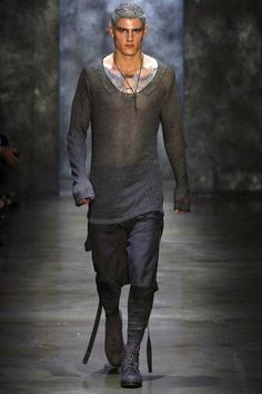 Alexandre Plokhov - Spring Summer 2013 - Men Fashion Shows - Vogue. Dark Fashion, Fashion Art, Fashion Show, Mens Fashion, Fashion Design, Style Fashion, High Fashion, Paris Tokyo, Looks Style