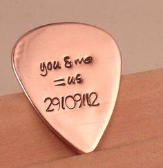 Love quotes Guitar. $18.00, via Etsy.