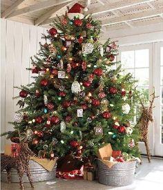 Designer Christmas Trees : Christmas Peppermint Sphere Ornament