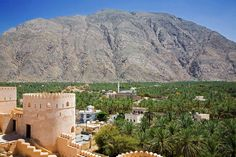 """Wadi Beni Auf and Nakhal tours from Muscat, group trips to visit Al Thowara Oasis, Wadi Beni Auf and Nakhal fort. Excursion takes you from hotel to enjoy the history of this historical city before exploring the """"Snake canyon"""" 300 meters deep in 8 hours daily tours from Muscat."""