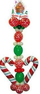 Candy cane column