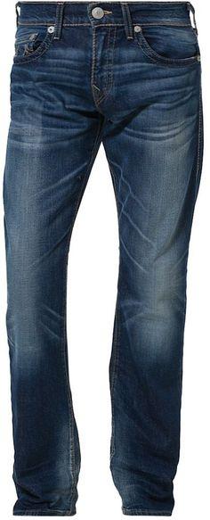 True Religion BOBBY Straight leg jeans blue on shopstyle.co.uk