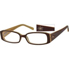 a fashion full rim acetate frame with spring hinges and sparkling crystals on the