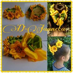 Одноклассники Bun Wrap, Kanzashi Tutorial, Japanese Flowers, Kanzashi Flowers, Ribbon Art, Flower Crafts, Quilling, Hair Pins, Flower Power