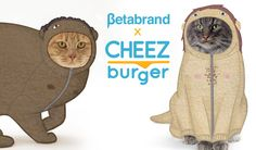 Cheezburger & Betabrand Clothes For Cats #aprilfools